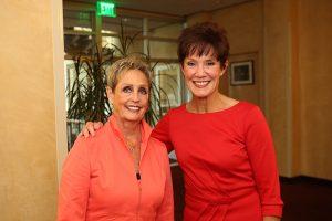 Connie Conard and Carol LeBeau